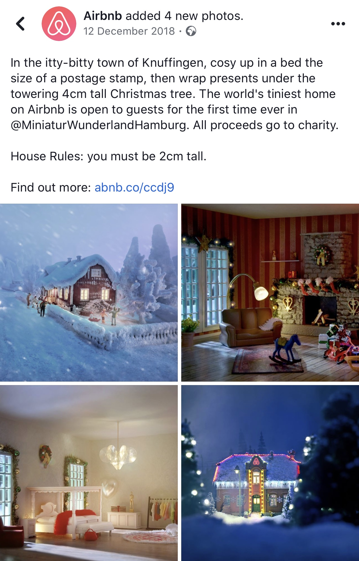 Facebook Christmas ads