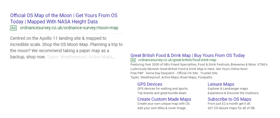 examples of great PPC ads