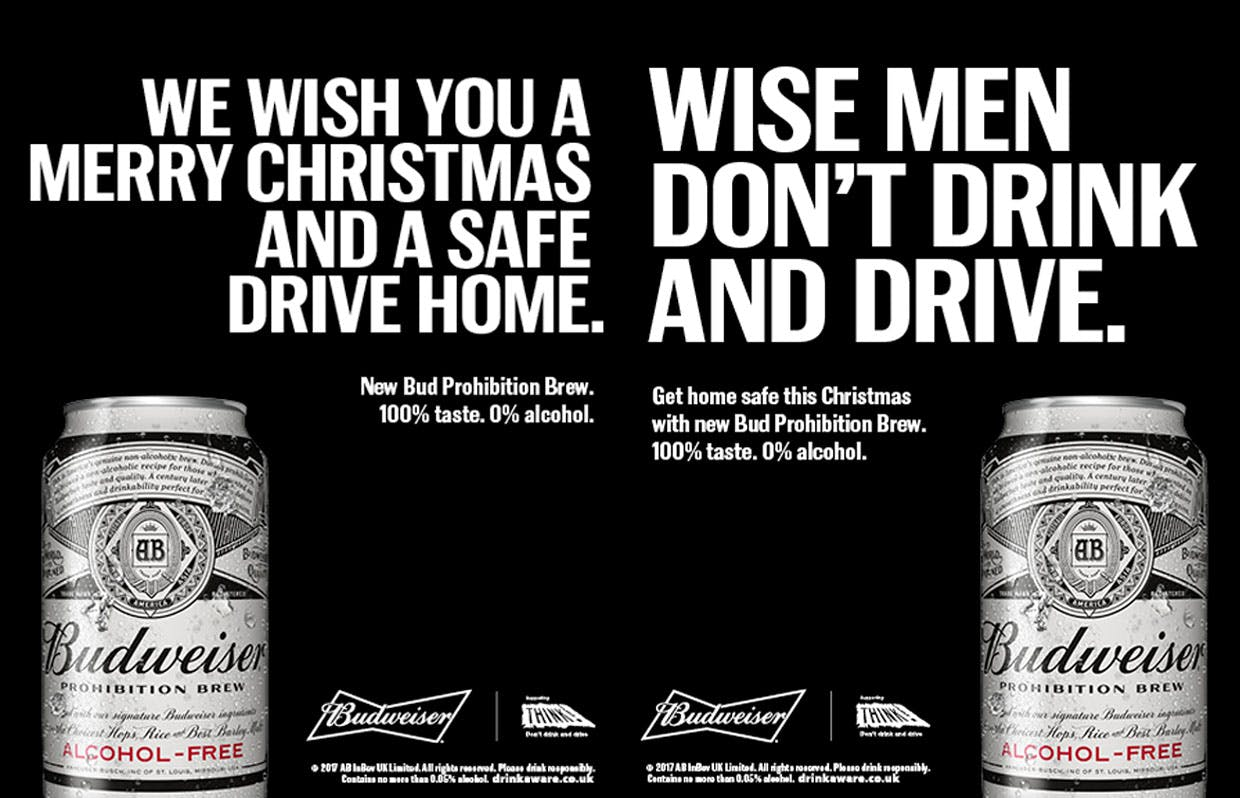 budweiser prohibition christmas campaign