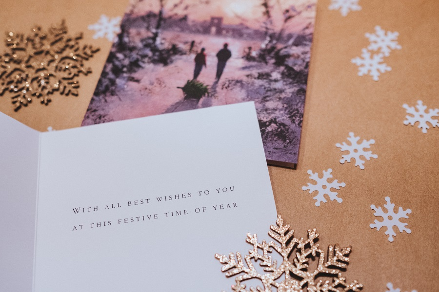 christmas cards lead generation