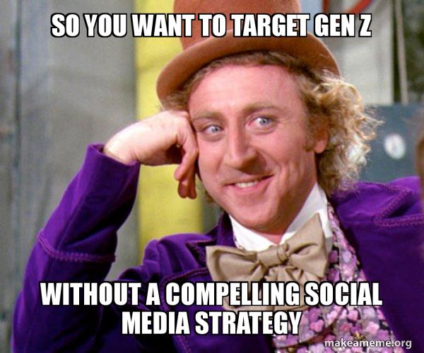 Willy Wonka Social Media