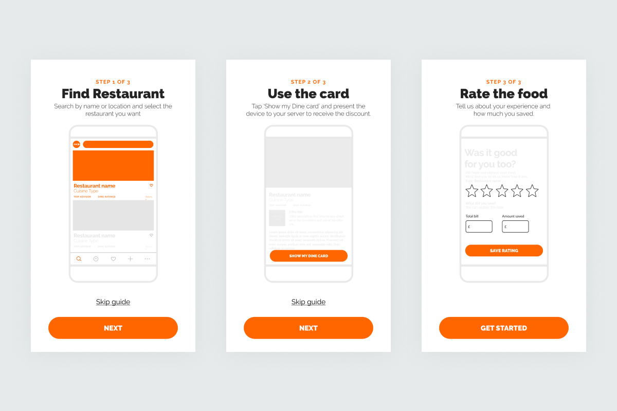 example of onboarding for users re-learning an interface