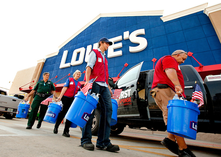 Lowe's Flooding Response