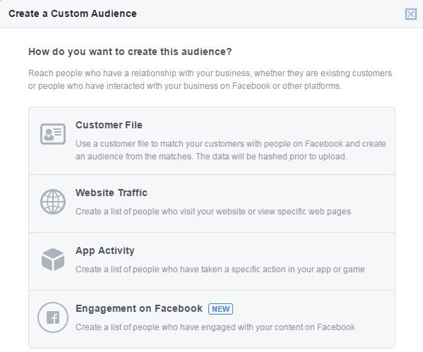 Facebook custom audiences: this time, it's personal - Adido Digital
